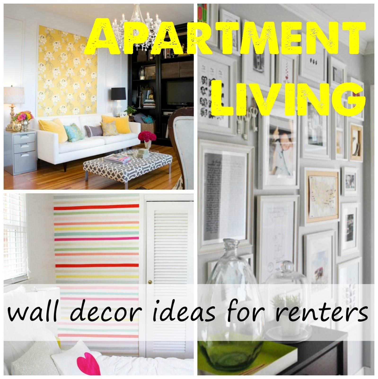 Apartment Living Wall Decor Label Me Organized