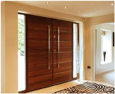 model pintu minimalis modern sederhana