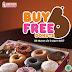 Promo Dunkin Donuts Beli 6 Gratis 6 Maret - April 2017
