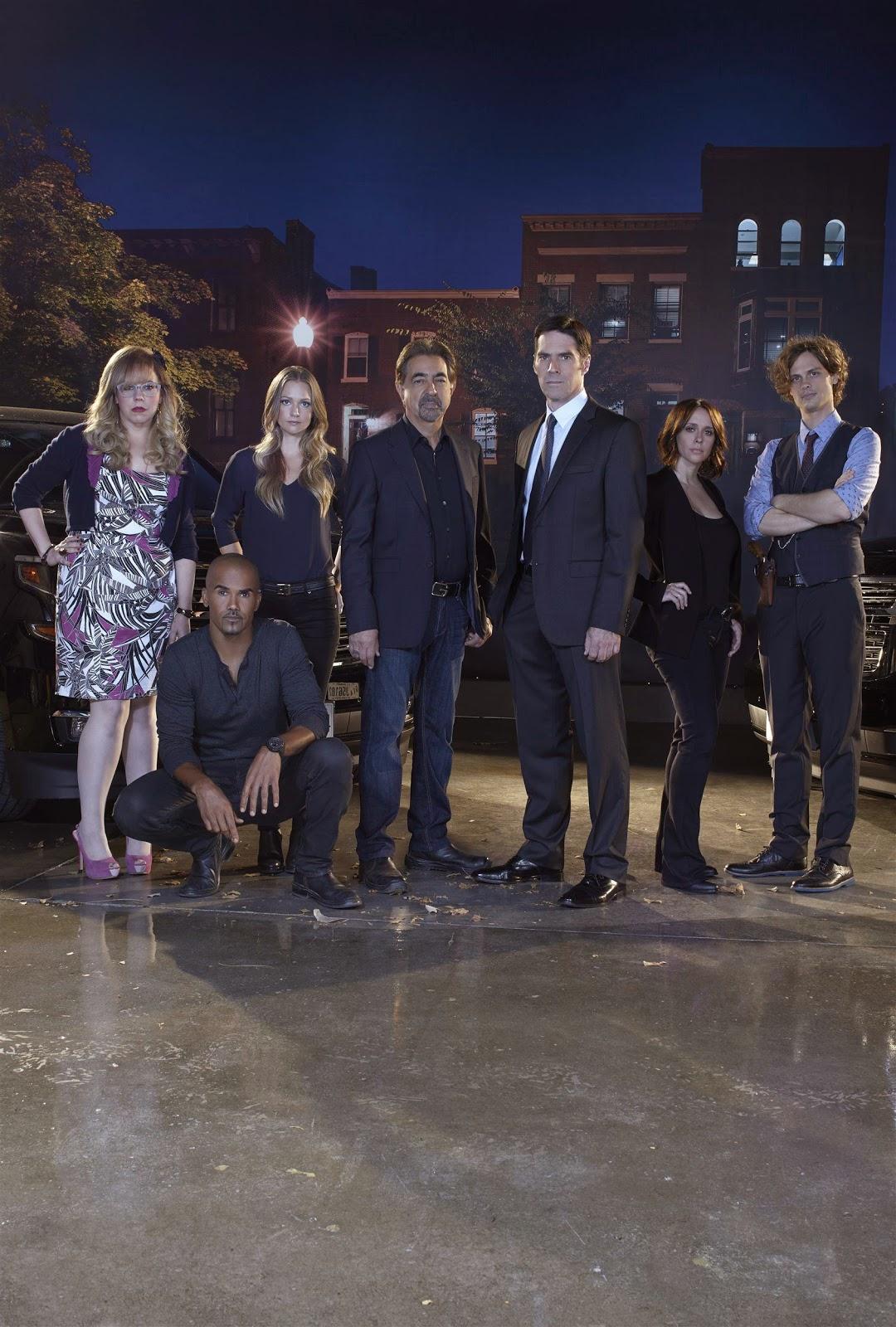 Criminal Minds Round Table: CRIMINAL MINDS Season 10 - Cast