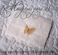 mariposas para invitaciones de boda o tarjetas