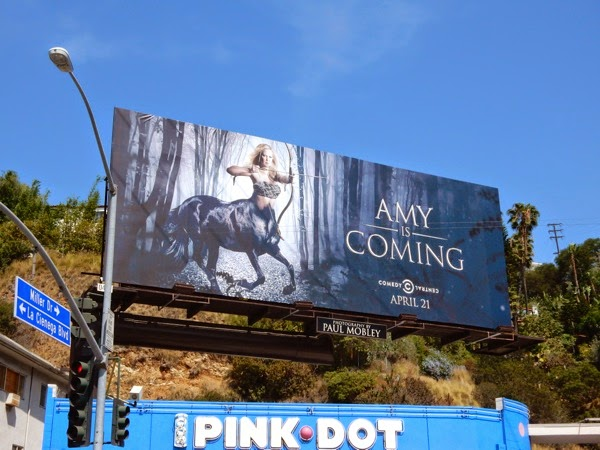 Amy is Coming Amy Schumer season 3 teaser billboard