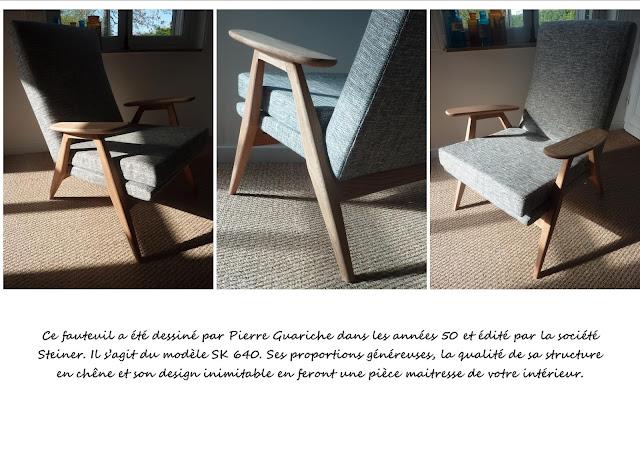 Fauteuils Pierre Guariche SK640