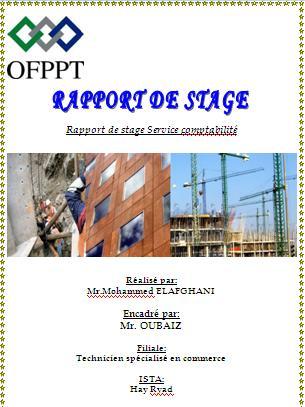Rapport De Stage Technicien Specialise En Commerce Service