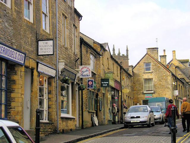The charming medieval streets of Stow On The Wold in England. Photo: Wenno.