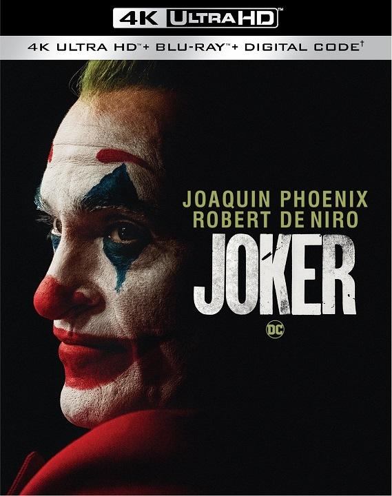 Joker 4K (2019) Ultra HD Blu-ray Review: The Basics Slipcover