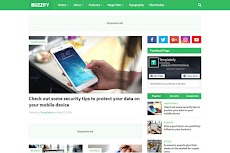 Buzzify - Responsive Blogger Template