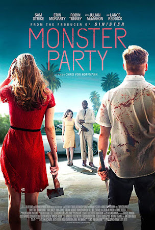 Poster Of Hollywood Film Watch Online Monster Party 2018 Full Movie Download Free Watch Online 300MB