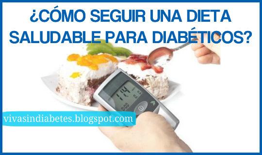 Dieta Saludable Para Diabeticos