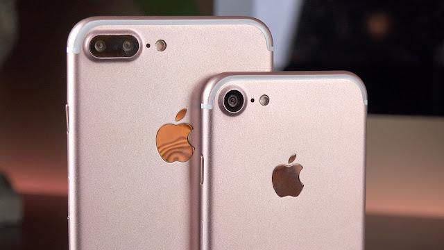 Harga Dan Spesifikasi iPhone 7 Dan iPhone 7 Plus