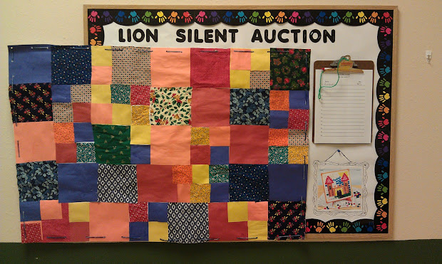 Living Teaching Life Quilt & Silent Auction