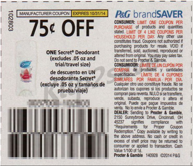 graphic regarding Wegmans Printable Coupons titled Intense Couponing Mommy: Absolutely free Mystery Deodorant at Wegmans