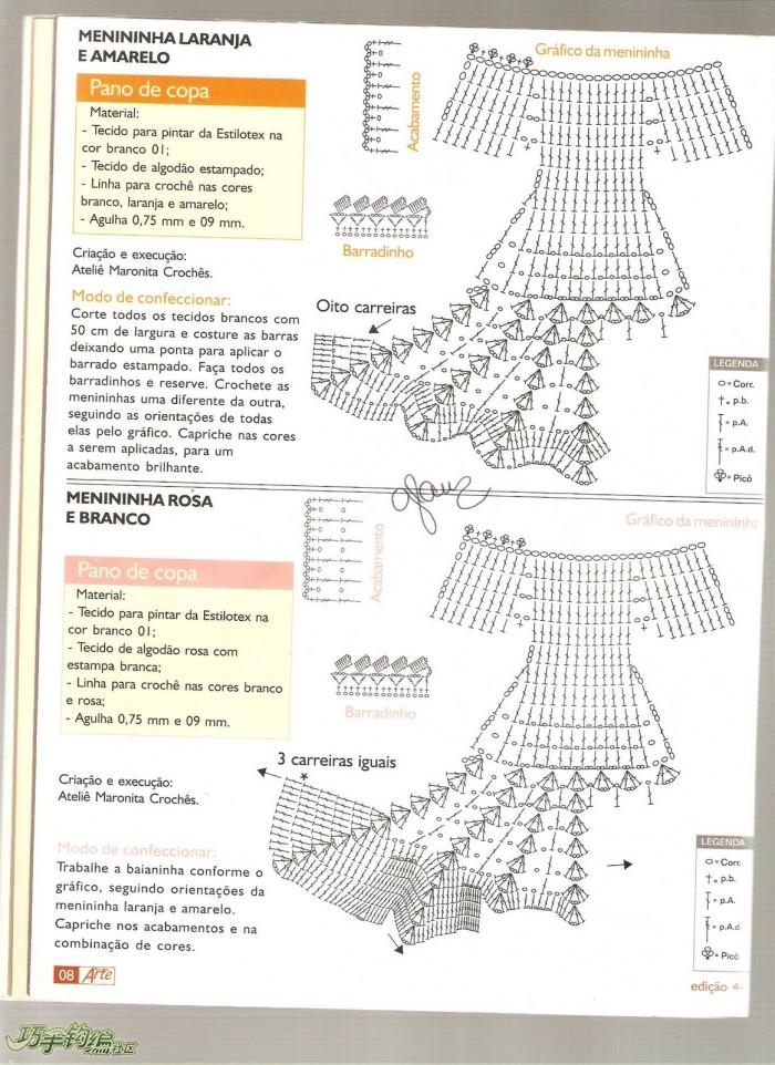 Patrones Crochet Muñecas Postales