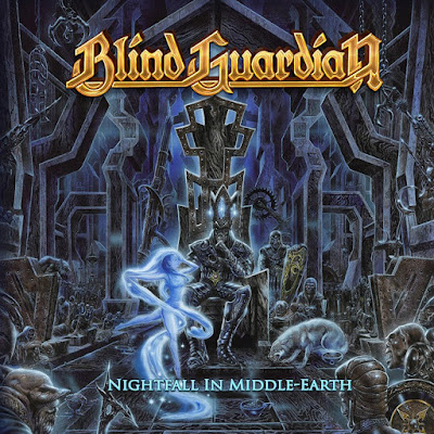 Εξώφυλλο για το Nightfall in Middle Earth των Blind Guardian