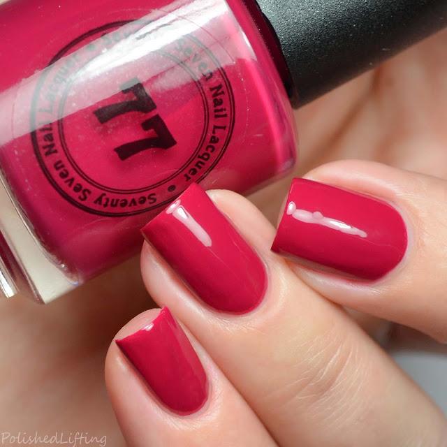 magenta creme nail polish