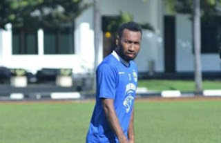 Patrich Wanggai Ikut Latihan Persib Bandung