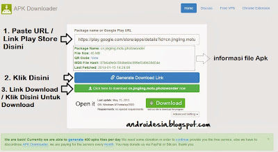 download apk dari play store ke komputer Apk generator