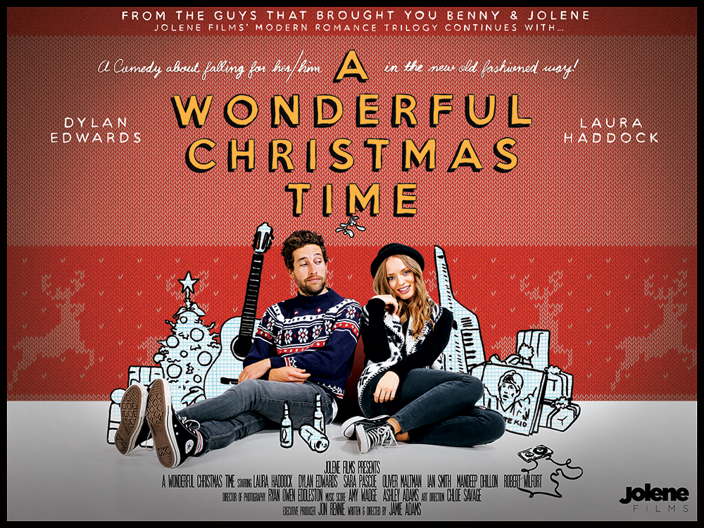 seem to be watching writerdirector jamie adams semi improvised loose trilogy of welsh romcoms in reverse order a wonderful christmas time available - Wonderful Christmas Time