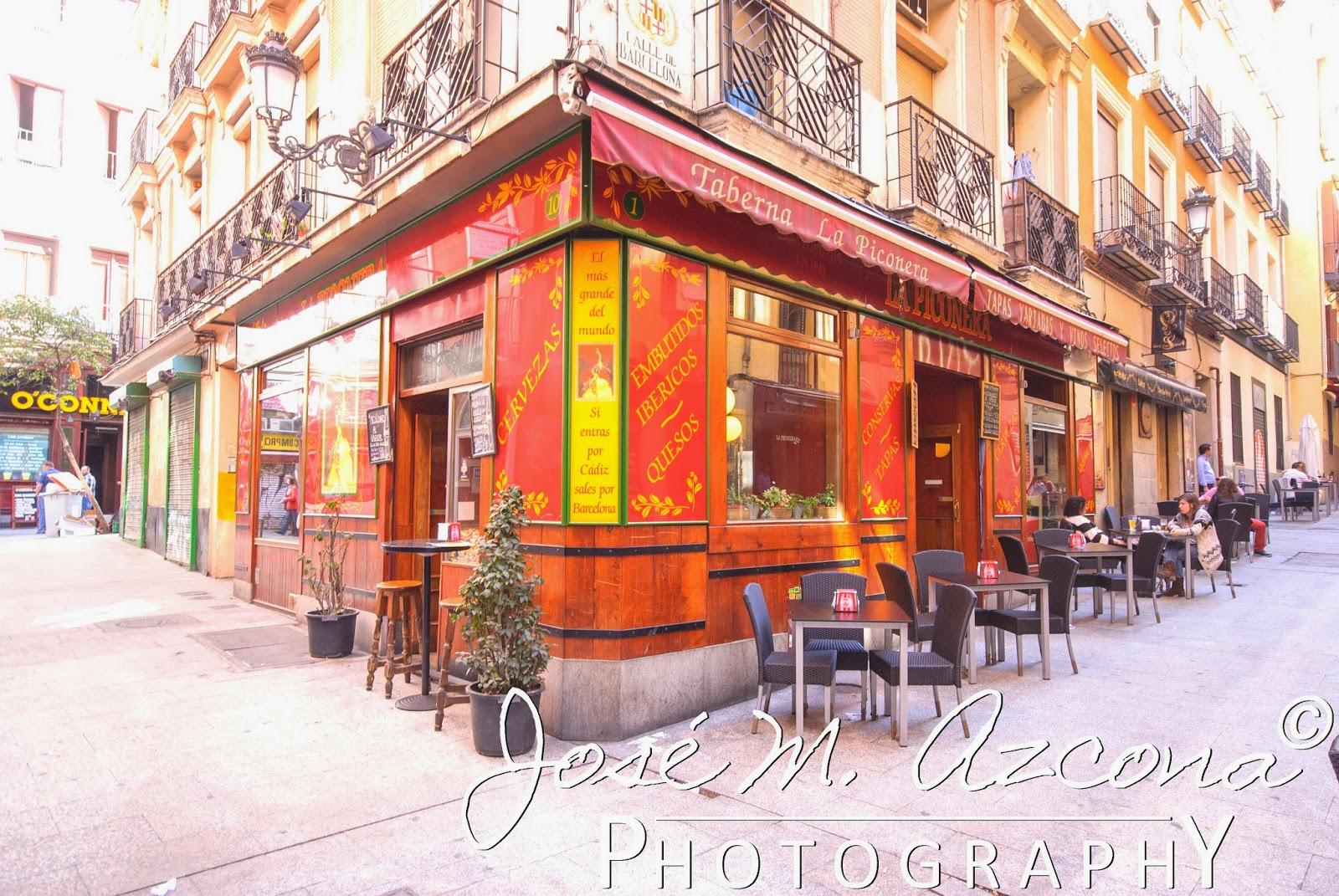 La Piconera en la calle de Cádiz esquina con calle de Barcelona
