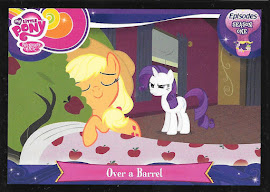 My Little Pony Over a Barrel Series 3 Trading Card
