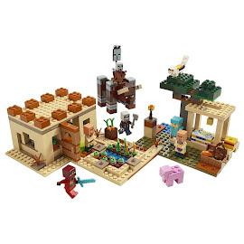 Minecraft The Illager Raid Lego Sets