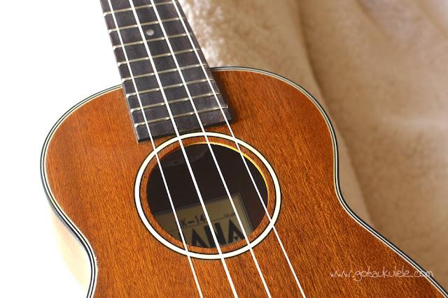Ohana SK-14 soprano ukulele sound hole