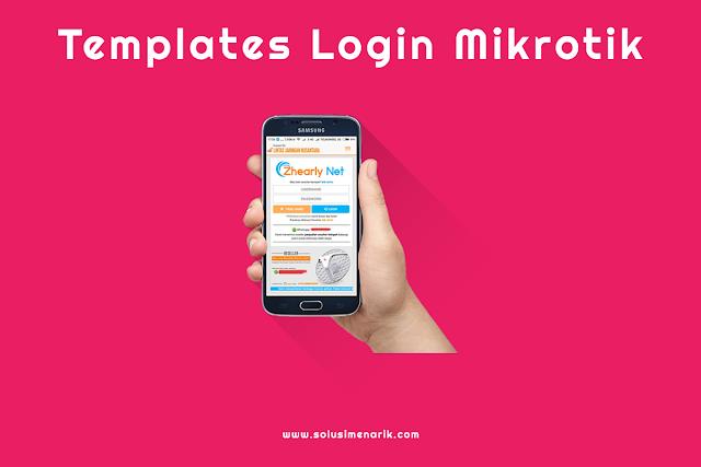 Free Templates Login Mikrotik Hotspot Responsive