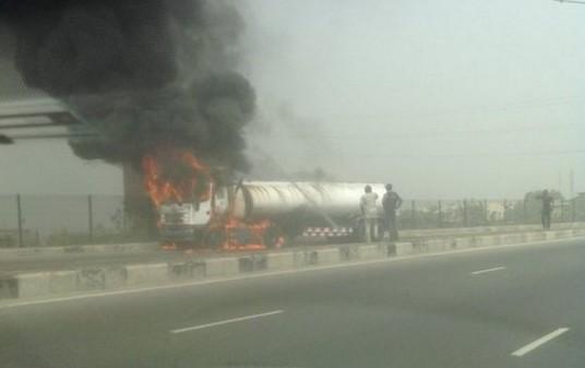 fuel tanker fire explosion lekki lagos