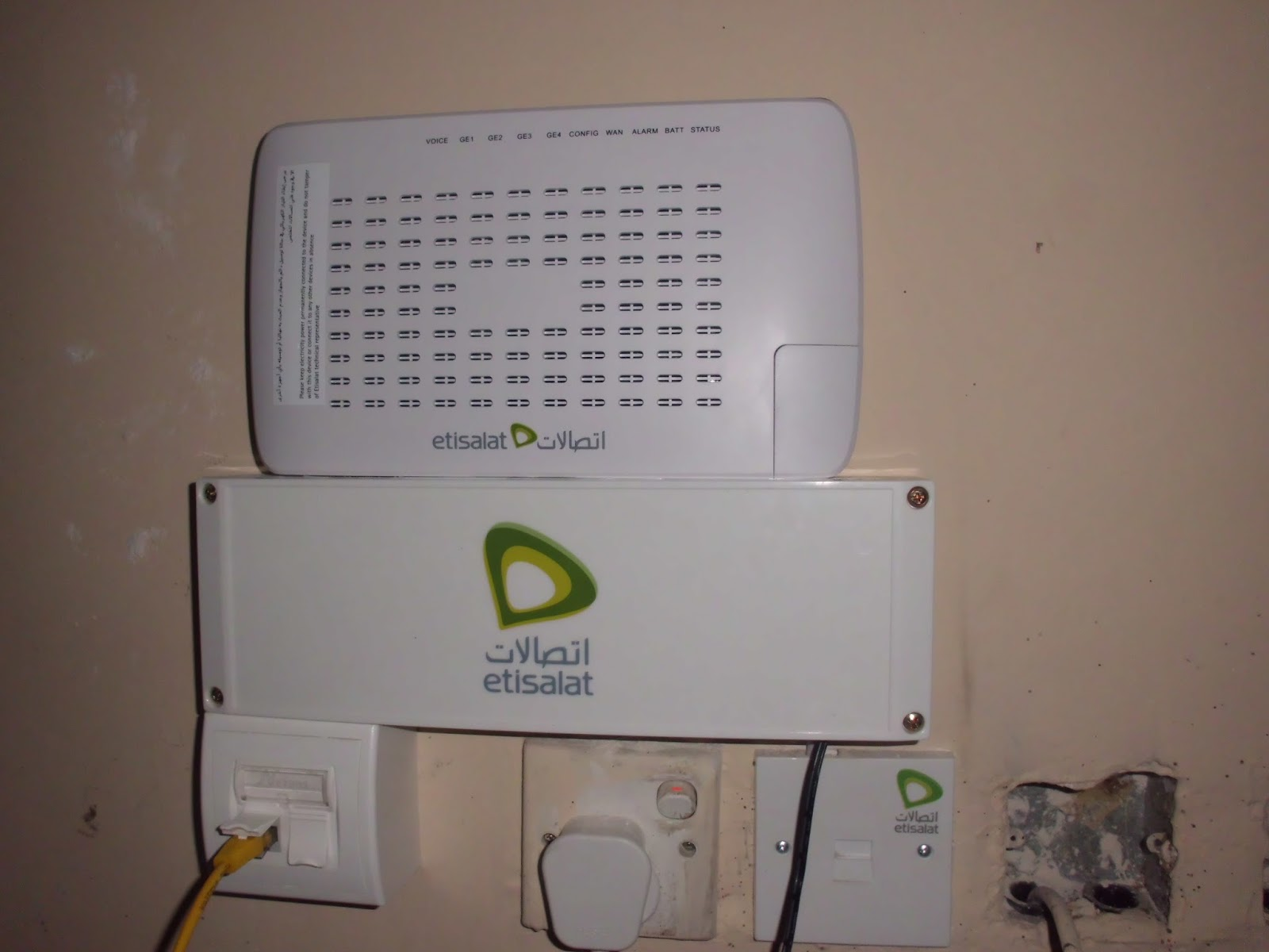 Etisalat Support Installation Standards