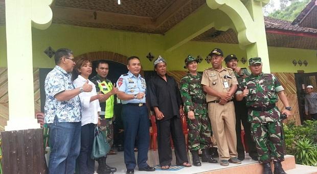 """Kasgartap II/Bandung Resmikan """"Longsoran"""" Blok Gunung Masigit"""