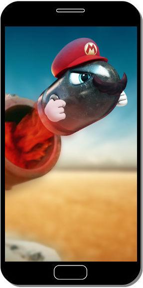 Super Mario Odyssey Obus - Fond d'Écran en QHD pour Mobile