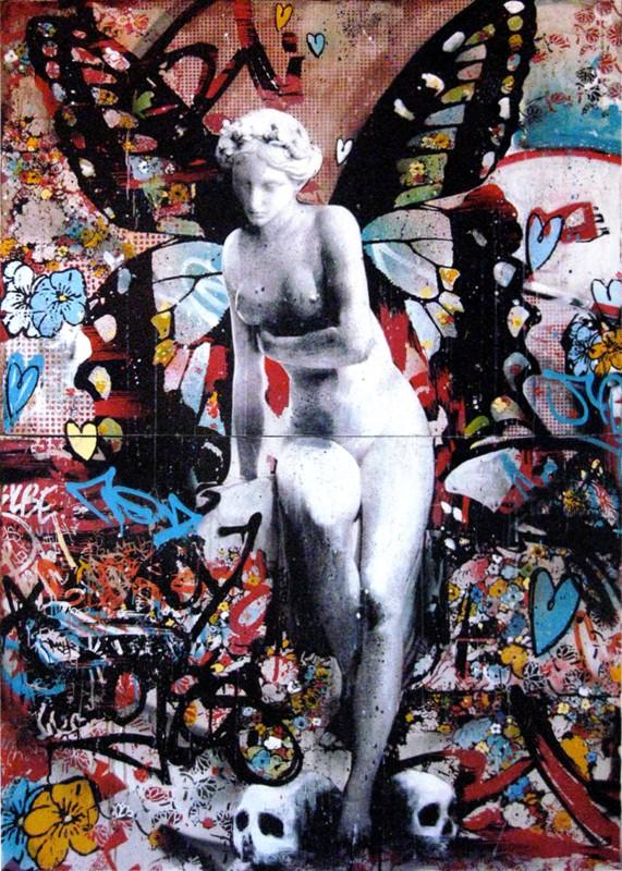 Уличный художник. Hush 9