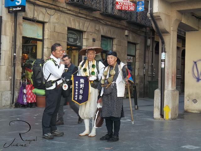 peregrinos a santiago