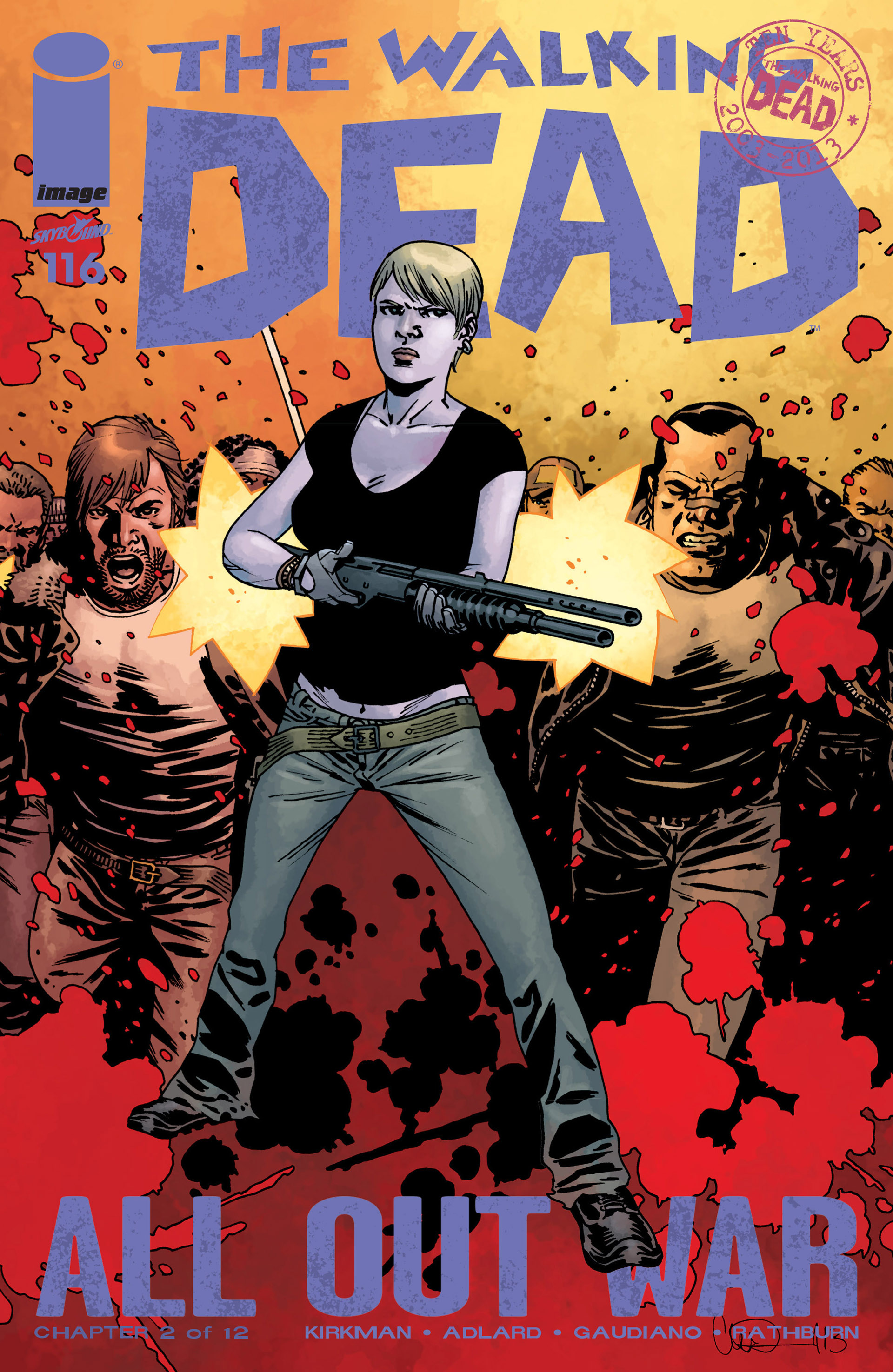 The Walking Dead 116 Page 1