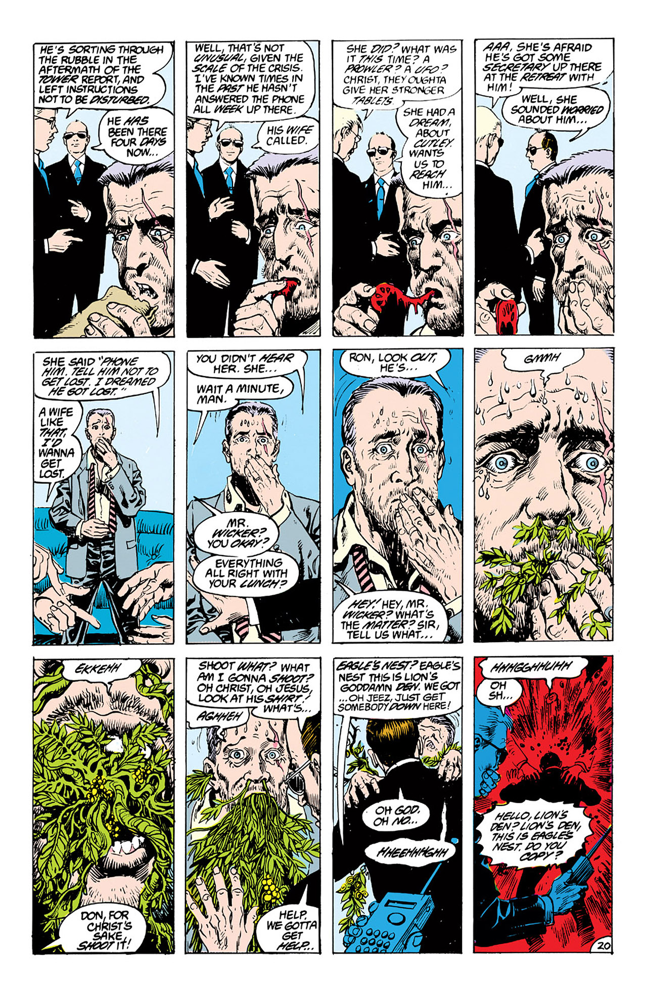 Swamp Thing (1982) Issue #63 #71 - English 20
