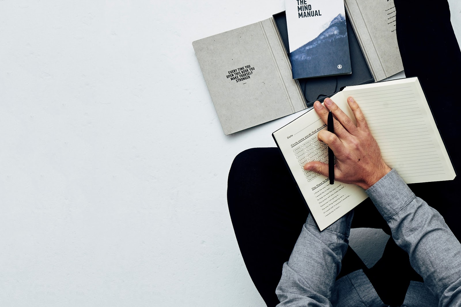 Menswear blogger James Brown from getyourbronon looks at the mind journal from Brighton
