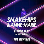 Snakehips - Either Way (feat. Joey Bada$$) [The Remixes] - Single Cover