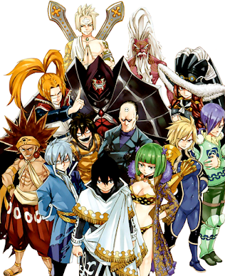 Fairy Tail's Spriggan 12
