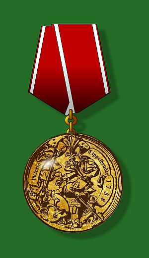 The Tippelbruder Victory Medal
