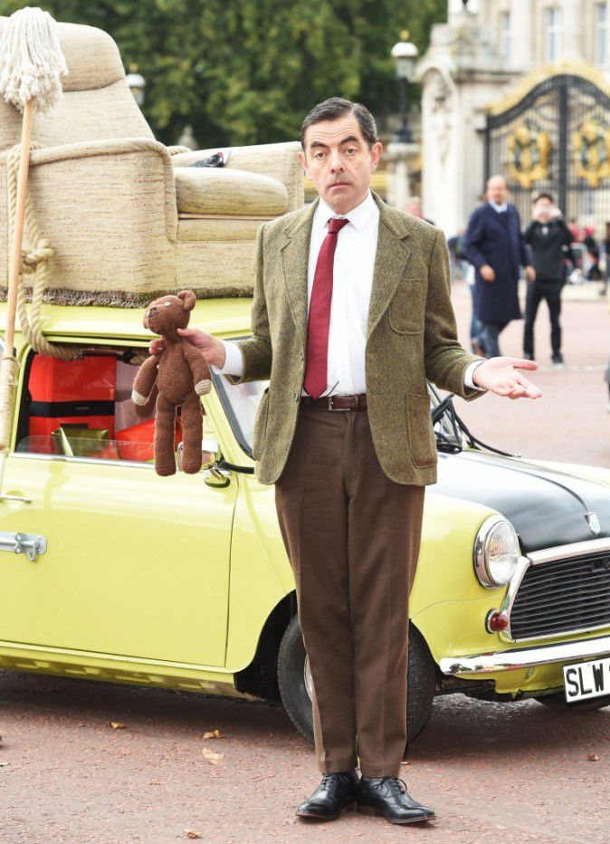 Rowan Atkinson: Mr Bean 25 years celebrated in London
