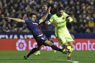 ملخص مباراة برشلونة وليفانتي اليوم 10/1/2019 كأس ملك إسبانيا Levante vs Barcelona live