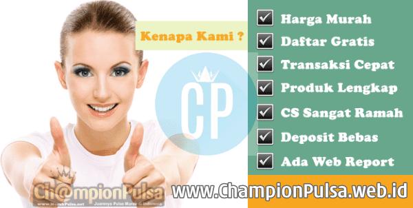 ChampionPulsa.web.id Dealer Pulsa Elektrik Online Termurah Saat Ini