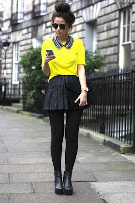 Faldas Negras de Vestir