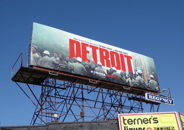 Detroit movie billboard