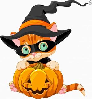 Clipart de Ternuritas de Halloween.