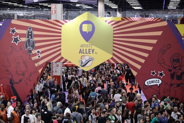 CCXP Comic Con Experience Artists' Alley