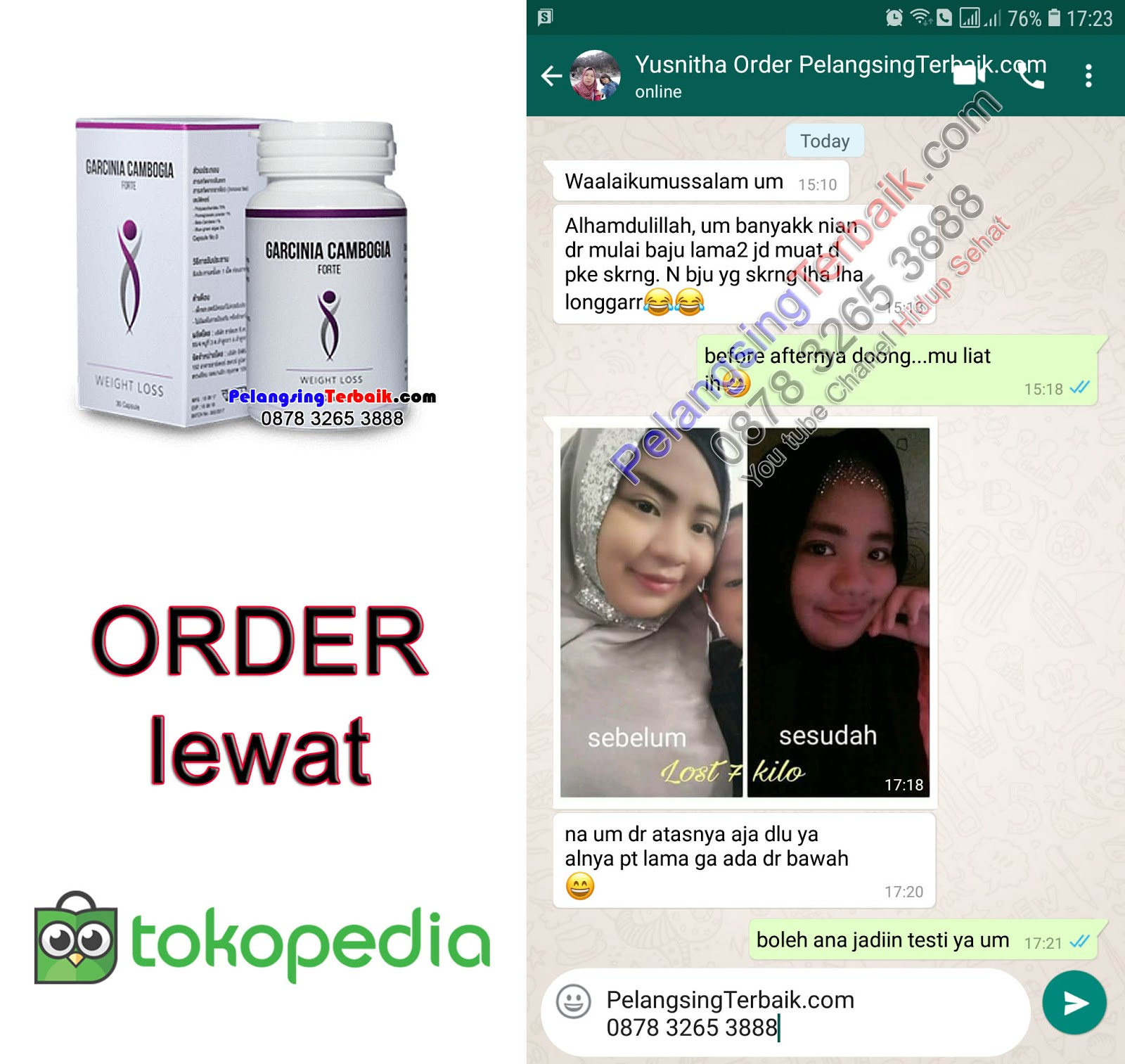 Order via TokoPedia.com