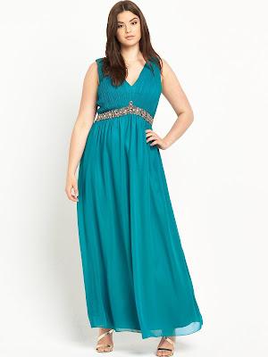 vestidos para gorditas de fiesta elegantes