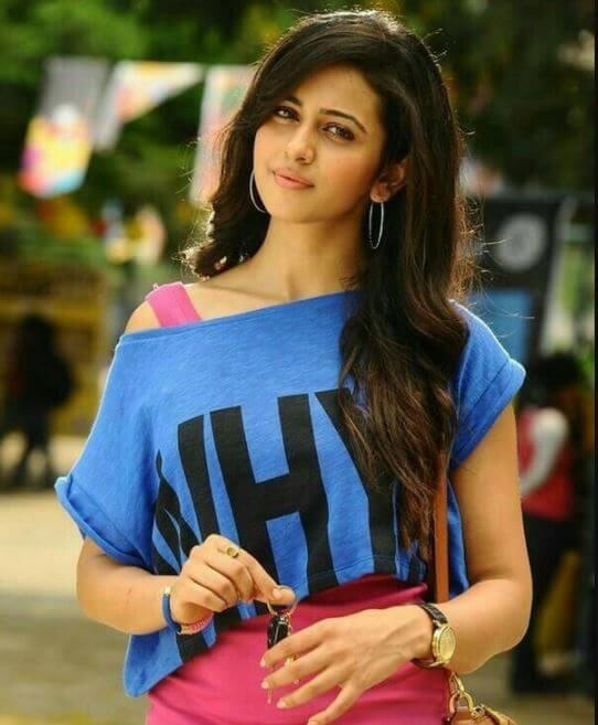 Rakul Preet Singh HD Images in Current Teega