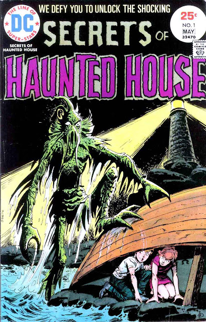 Secrets of Haunted House v1 #1, 1975 DC bronze age horror comic book cover